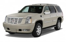 2011 Cadillac Escalade AWD 4-door Base Angular Front Exterior View