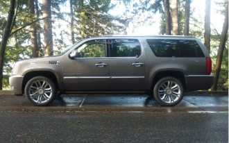 2011 Cadillac Escalade ESV: Driven