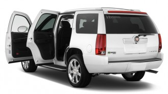 2011 Cadillac Escalade Hybrid 4WD 4-door Open Doors