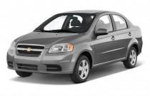2011 Chevrolet Aveo 4-door Sedan LS Angular Front Exterior View