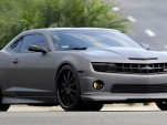 David Beckham's new 2011 Chevrolet Camaro