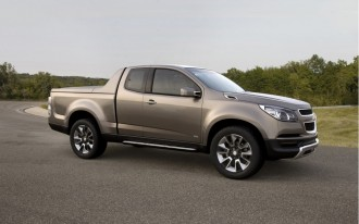 Chevrolet Colorado Show Truck Previews Next-Gen Midsize Pickup