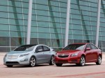 2011 Chevrolet Cruze and pre-production 2011 Chevrolet Volt