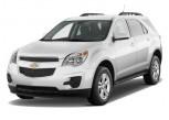 2011 Chevrolet Equinox FWD 4-door LT w/1LT Angular Front Exterior View