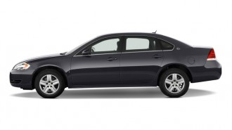 2011 Chevrolet Impala 4-door Sedan LS Retail Side Exterior View