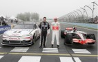 Stewart, Hamilton Mobil 1 F1-NASCAR Car Swap: Gallery