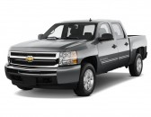 "2011 Chevrolet Silverado 1500 Hybrid 4WD Crew Cab 143.5"" 2HY Angular Front Exterior View"