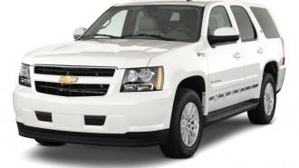 2011 Chevrolet Tahoe Hybrid 2WD 4-door Angular Front Exterior View