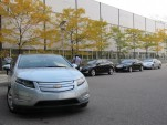 2011 Chevrolet Volt Rolls Down The Production Line [Video] 