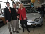 First 2011 Chevrolet Volt delivered to retail buyer Jeffrey Kaffee, in Denville, NJ, December 2010