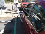 2011 Chevrolet Volt using Level 2 240-Volt charging station in Vacaville, California