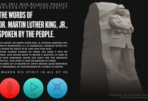 Chevrolet Sponsors The 2011 MLK Reading Project