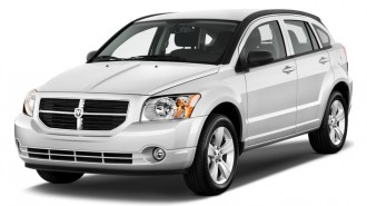 2011 Dodge Caliber 4-door HB Mainstreet Angular Front Exterior View