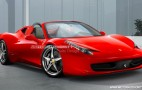 Ferrari 458 Italia Spider To Get Folding Hardtop?