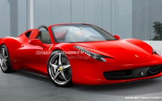 Preview: 2011 Ferrari 458 Italia Spider