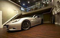 DMC Ferrari California 3S Silver Carbon