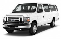 2011 Ford Econoline Wagon E-350 Super Duty Ext XL Angular Front Exterior View
