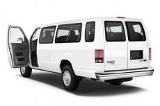 2011 Ford Econoline Wagon E-350 Super Duty Ext XL Open Doors