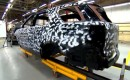 2011 Ford Explorer chassis in the camouflaging process