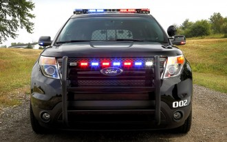 Ford Gives U.S. Police Their First 30 MPG Car