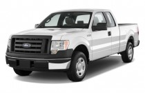 "2011 Ford F-150 2WD SuperCab 145"" XL Angular Front Exterior View"