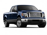Ford's CEO, Alan Mulally, Delivers F-150 To Customer
