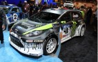 2010 SEMA: 2011 Gymkhana THREE Ford Fiesta Live Photos