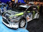 2010 SEMA: Ken Block's Gymkhana THREE ford Fiesta live photos