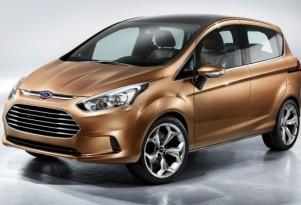 Ford B-Max Concept Ahead of 2011 Geneva Motor Show