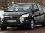 2011 Ford Focus test mule spy shot