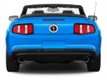 2011 Ford Mustang 2-door Convertible Premium Rear Exterior View
