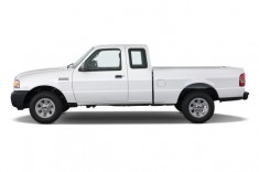 "2011 Ford Ranger 2WD 2-door SuperCab 126"" XL Side Exterior View"