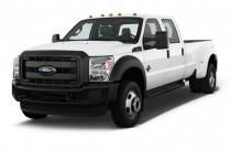 "2011 Ford Super Duty F-450 4WD Crew Cab 172"" XLT Angular Front Exterior View"