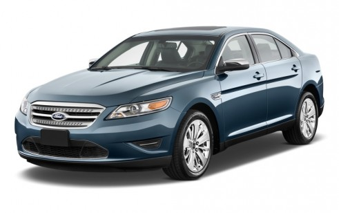 2011 Ford Taurus 4-door Sedan Limited FWD Angular Front Exterior View