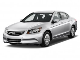 2011 Honda Accord Sedan 4-door I4 Auto LX Angular Front Exterior View