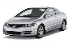 2011 Honda Civic Coupe 2-door Auto LX Angular Front Exterior View