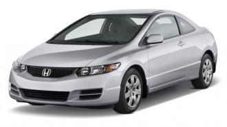 2011 Honda Civic Coupe 2-door Auto LX Angular Front Exterior View