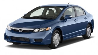 2011 Honda Civic Hybrid Angular Front Exterior View
