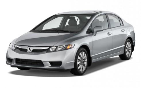 2011 Honda Civic Sedan 4-door Auto EX-L Angular Front Exterior View