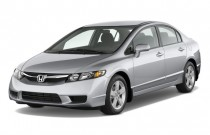 2011 Honda Civic Sedan 4-door Auto LX-S Angular Front Exterior View
