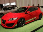 2010 SEMA: Honda CR-Z show car live photos