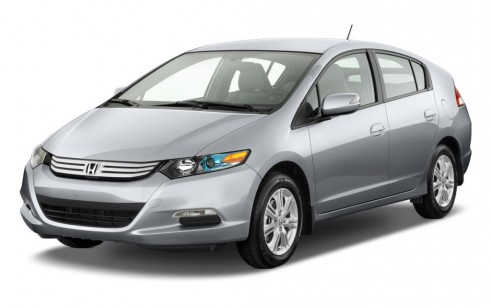 2011 Honda Insight 5dr CVT EX Angular Front Exterior View