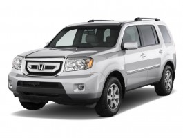 2011 Honda Pilot 4WD 4-door Touring w/RES &amp; Navi Angular Front Exterior View