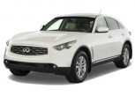 2011 Infiniti FX35 RWD 4-door Angular Front Exterior View