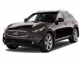 2011 Infiniti FX50 AWD 4-door Angular Front Exterior View