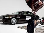 2011 Jaguar XJ on Jay-Z video set