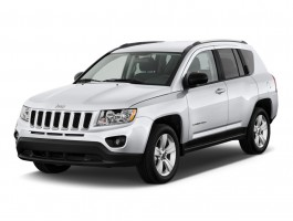 2011 Jeep Compass FWD 4-door Angular Front Exterior View