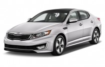 2011 Kia Optima 4-door Sedan 2.4L Auto EX Hybrid Angular Front Exterior View