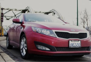 2011 Kia Optima EX Review:  It Hits The Hot Spot