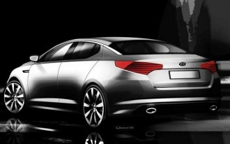 Kia Teases Racier Look For 2011 Optima, Ahead Of NY Show